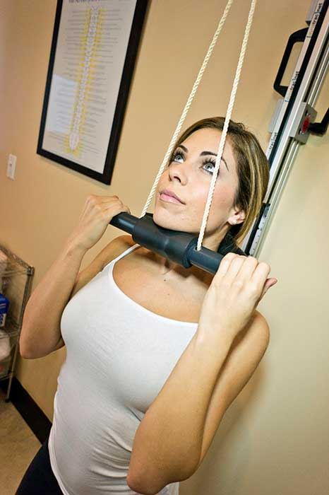 Corrective Chiropractic Care - Repetitive Cervical Traction