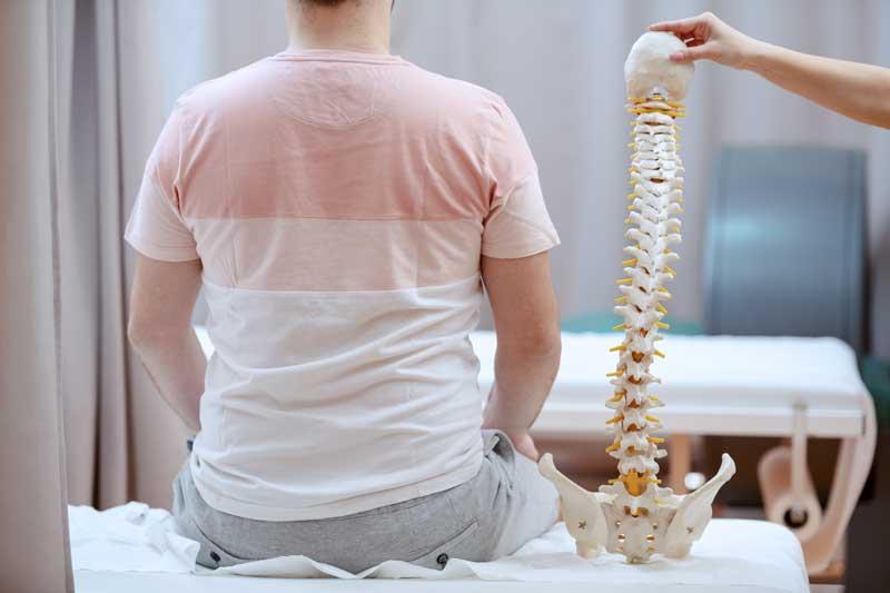 Asociación entre la alineación espinal y la composición bioquímica de la columna lumbar intervertebral - Asociación entre la alineación espinal y la composición bioquímica de los discos intervertebrales lumbares evaluados por resonancia magnética cuantitativa