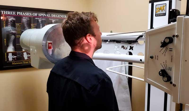Radiografía de movimiento digital - Protocolo cervical